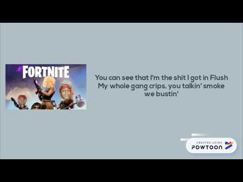 Yung Bans, Ski Mask the Slump God & Lil Yachty - Fortnite (lyrics NEW