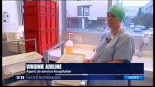 Rencontre avec Virginie, agent hospitalier au bloc pédiatrique de l'hôpital Charles-Nicolle de Rouen