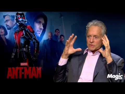 Nick Snaith chats to Michael Douglas about Ant Man