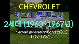 [쉐보레 콜벳 역사 2세대]쉐보레 콜벳 2세대 1953…