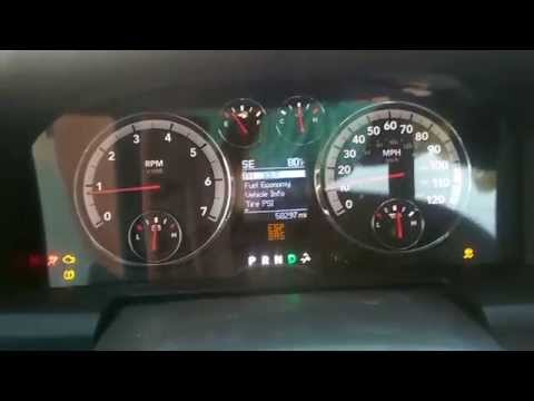 2010 Dodge Ram Dash Cluster Freaking Out