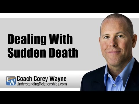 Dealing With the Sudden Dying of a kid