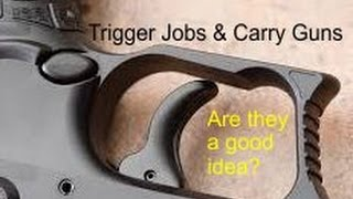Colleene Answers Questions (Ep.53): My thoughts on Trigger Jobs & Carry Guns
