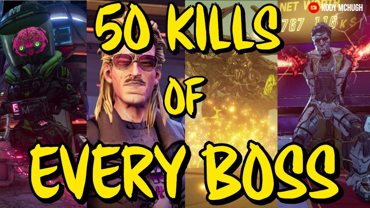 Legendary Weapons from 50 Kills of ALL BOSSES in Borderlands 3 (Mayhem 4) *Best Legendary Farms!* thumbnail