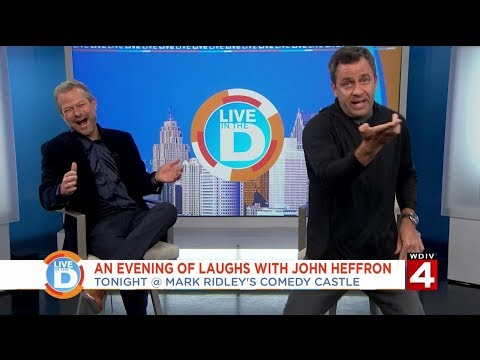 Live In The D: An evening of laughs with John Heffron