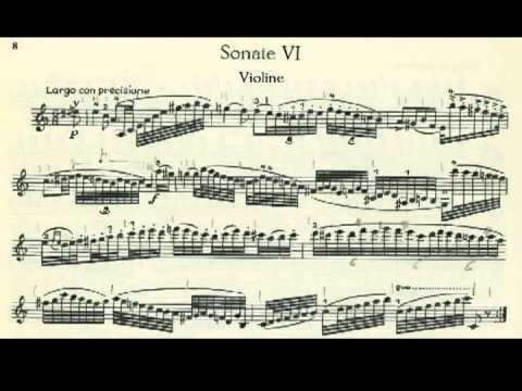 Paganini Sonata (Duo) A minor for Violin & Guitar Op.2 Part 1