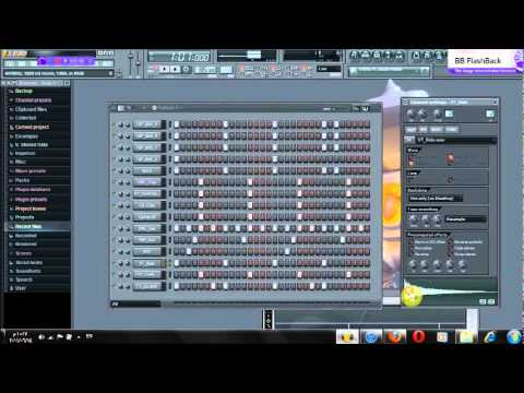 how to make a west cost beat on fl studio 10 693beat youtube. Black Bedroom Furniture Sets. Home Design Ideas