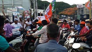 BJP vs AAP at Shanti Nagar Bengaluru Last Campaign