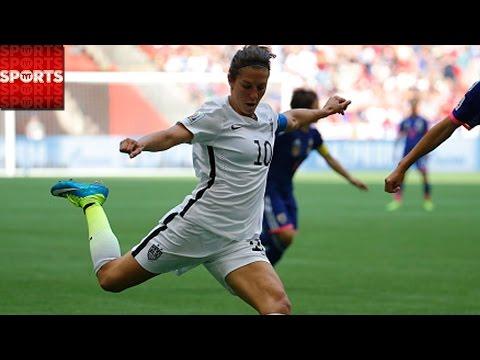 USA 52 Japan  CARLI LLOYD RECORD HAT TRICK Women's World Cup FINAL