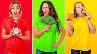YEMEYİ SEVENLERİN 15 FARKLI TÜRÜ || 123 GO!'dan Komik ve Herkesin Bildiği Anlar
