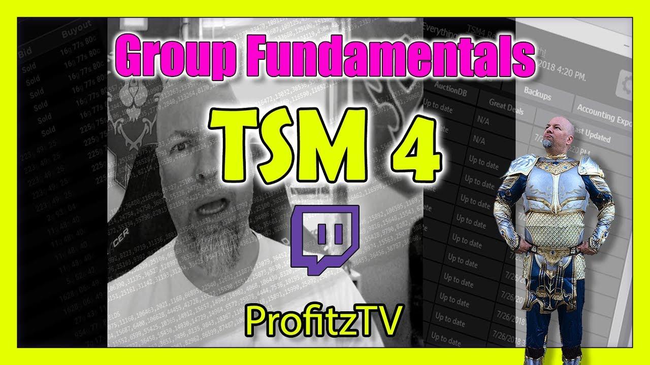 TSM4 Group Fundamentals - Ray Gould