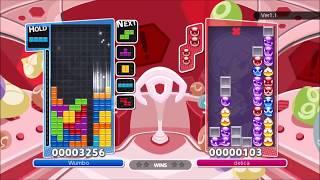 [Slight Disadvantage] Expert Tetris vs Expert Puyo