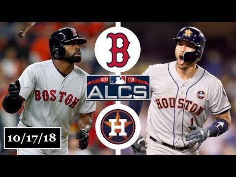Boston Red Sox vs Houston Astros Highlights || ALCS Game 4 || October 17, 2018