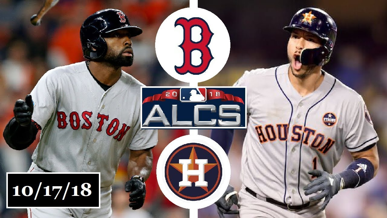 new style 67854 20711 Boston Red Sox vs Houston Astros Highlights || ALCS Game 4 || October 17,  2018