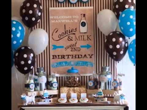One Year Old Birthday Party Decoration Youtube