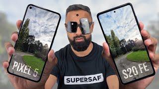 Pixel 5 vs Galaxy S20 FE Camera Test Comparison