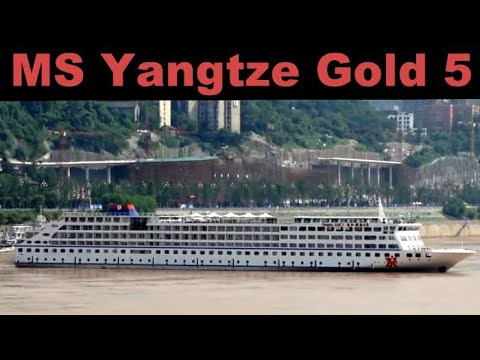 M/S Yangtze Gold 5 Leaving Chongqing Part 2