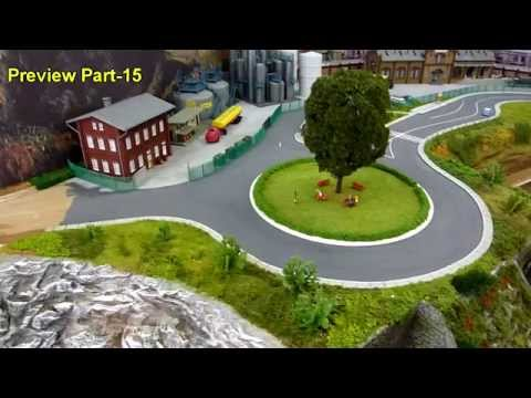 Part 13  Building scenery skeleton and Faller car system Siebwalde City