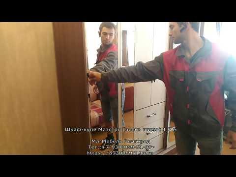 Шкаф купе Маестро (ясень шимо-дуб атланта) БТС