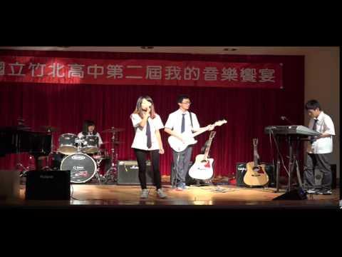 第2屆我的音樂饗宴_12_My Happy Ending Band Cover_203班_張慧芸(唱)、鍾佳宸(電吉他)、陳宥孜(爵士鼓)、林育玄(keyboard)