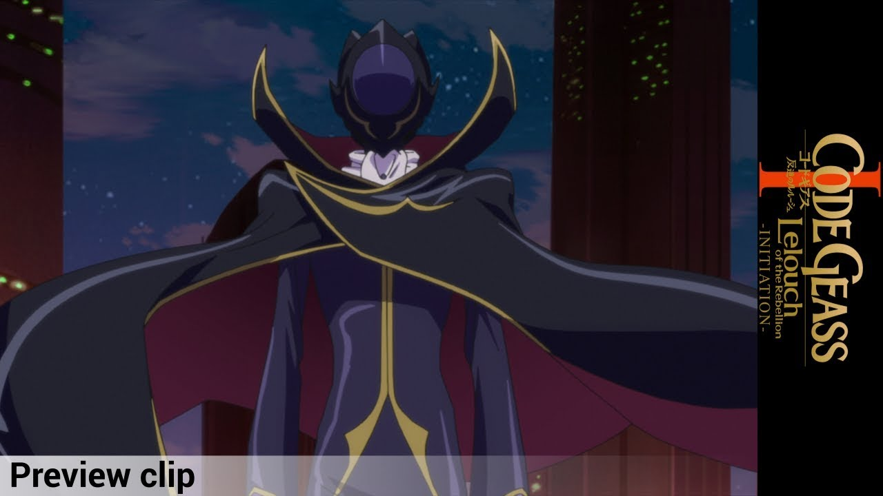 Code Geass: Initiation Preview Clip - Zero