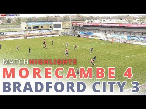 HIGHLIGHTS | Morecambe reserves v Bradford City reserves