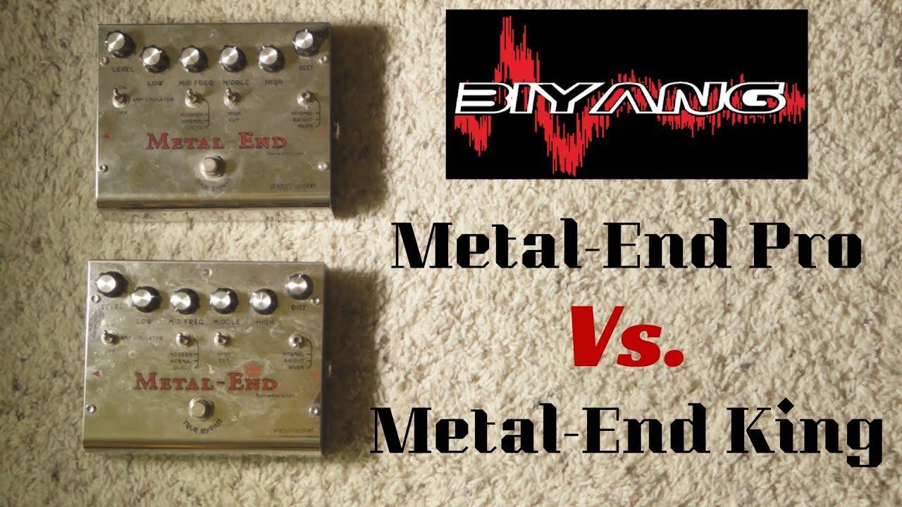 Biyang Metal End Distortion Pedal Shootout Pro Vs Efek Gitar King Roberts Guitar Dungeon