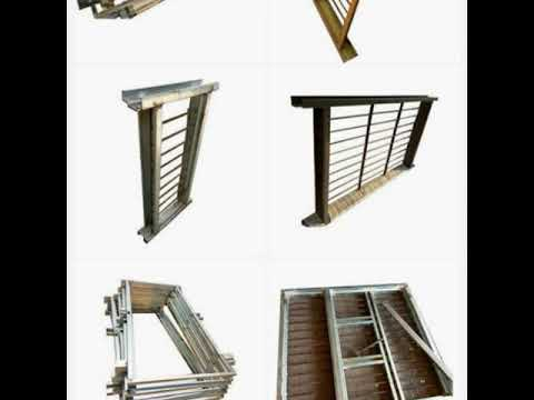 Sheet metal door and windows frame manufacturing