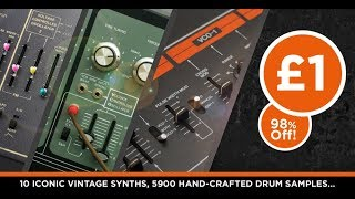 Wave Alchemy Synth Drums - No Brainer Deal