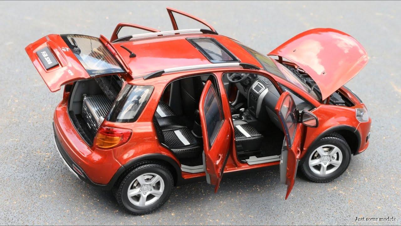 1:18 Suzuki SX4 1.6 VVT 2007 - [Unboxing]