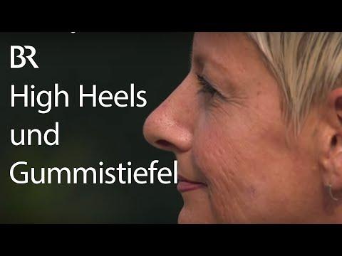 Gummistiefel und High Heels: Die