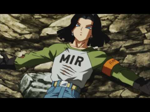Android 17 gets serious and eliminates Vikal from Universe 2 like a savage :D Subs