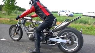 essais dragster moteur rotax 500cm3 2T (12 mai 2013)
