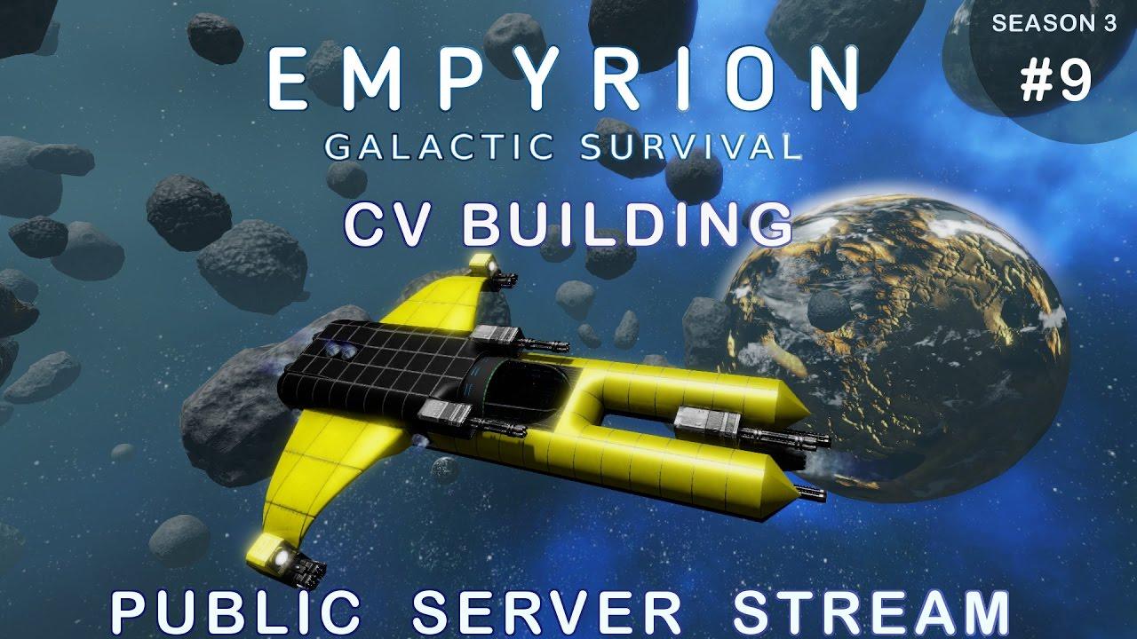 empyrion - galactic survival - cv building