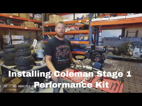 Stage 1: Coleman CT200U-EX/MB200/Baja Warrior Performance Kit
