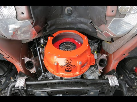 Orange Krush Trans and Clutch Upgrade