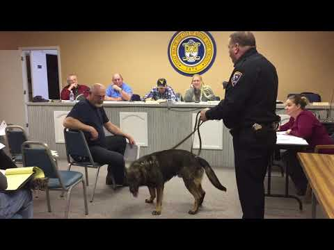 Keyser City Council meets PSC K-9