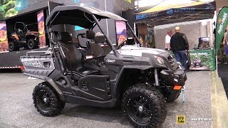 2019 CfMoto U-Force 800 Utility ATV - Walkaround - 2018 Toronto ATV Show