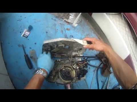 Throttle control for johnson outboard motor