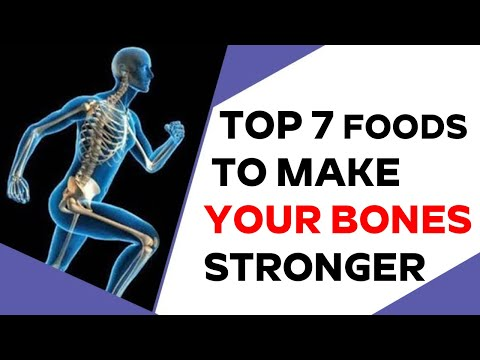 Top 7 FOODS TO MAKE YOUR BONES STRONGER | nature cure.fit