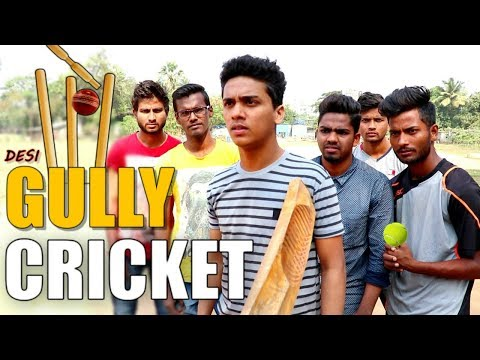 GULLY CRICKET | Types of People in DESi Gully Cricket | Shet