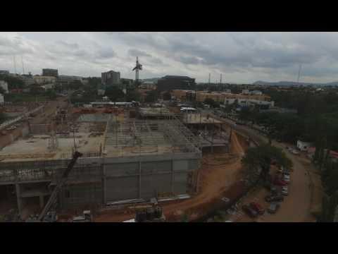 Progress of Novare Central, Abuja Nigeria – May 2017