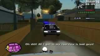 GTA San Andreas - Mission #26 - Reuniting The Families