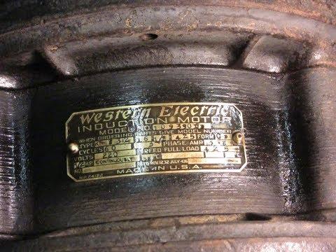 Sturtevant Size 8 Design 5 Propeller Fans - #5 - Replace stator wires & fix nameplate...
