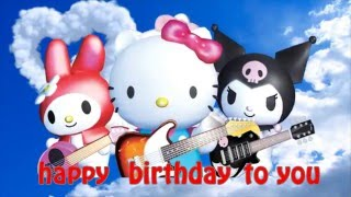 Happy Birthday Song Hello Kitty - Kids Songs