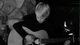 Rihanna - Diamonds by 11 yr old Carson Lueders acoustic cover