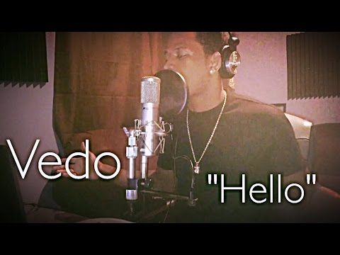 "Adele - Hello ""Cover"" By: @VedoTheSinger"