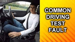 Most Common Driving Test Fault - Learner Fails Diving Test