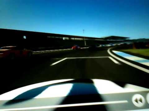 Racing video game