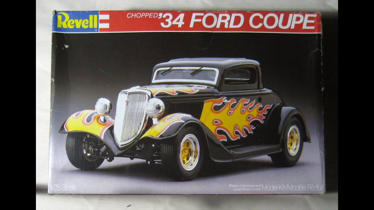 Chopped u002734 Ford Coupe by Revell & Chopped u002734 Ford Coupe by Revell - YouTube markmcfarlin.com